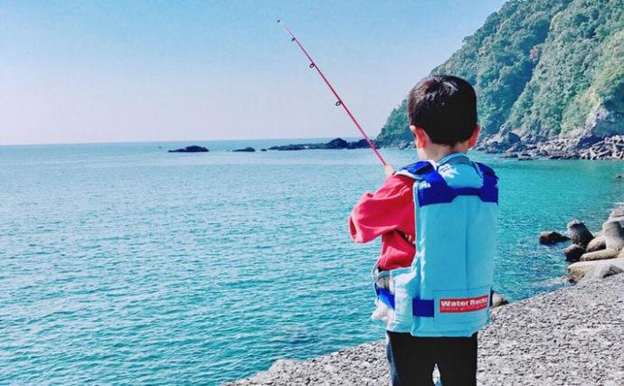 幼児と楽しむ『釣り×ピクニック』4つのメリット これぞ英才魚育?