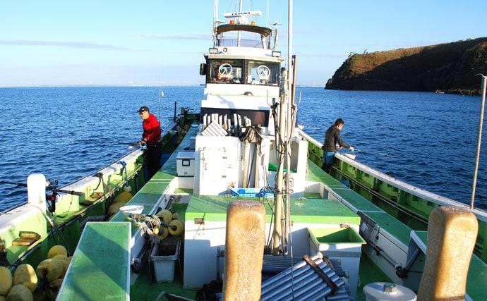 釣ったアジの泳がせ釣りでカンパチ・ハタ・ワラサ【千葉・庄幸丸】