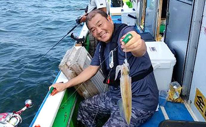 『ツノ&スッテ』ヤリイカ釣り初心者入門 開幕直後の釣況も【東京湾】