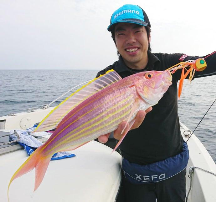 タイラバ&SLJ&イカメタルの豪華リレー船釣行レポート【山口県】