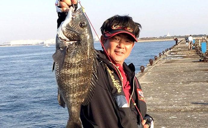 【2019秋】大阪湾チヌ落とし込み釣り最新情報 まきエサから離れよう