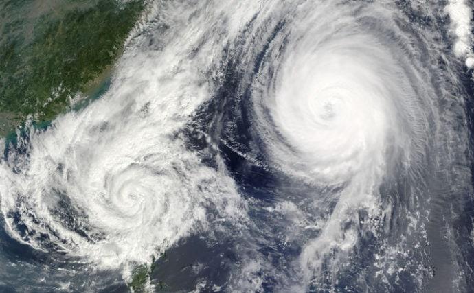台風通過時のサカナの行動を海水・淡水別に解説 避難場所は海が豊富?