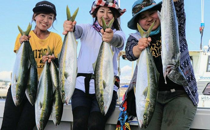 明石の青物ジギング開幕 2デイ釣行で激流を攻略しハマチ!【浜栄丸】