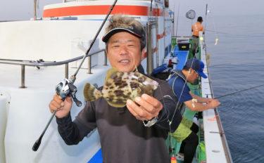 鈴木孝が教える船カワハギ初心者入門 『誘い方』と『誘い順』を徹底解説