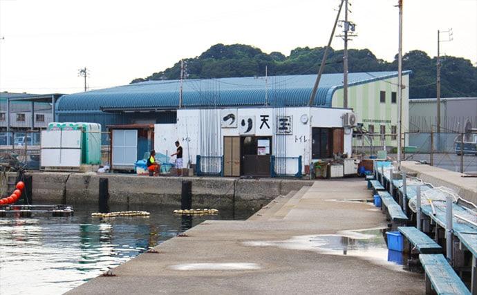 天国 篠島 釣り