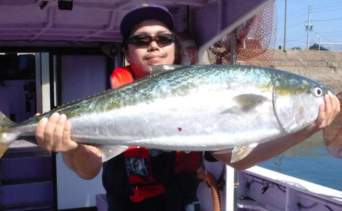 【愛知県】船釣り釣果速報 103cm巨大ブリに幻の魚クエも登場!