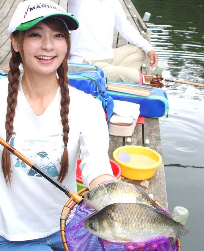 人生2回目のヘラブナ釣りで目標の20匹を大幅にクリア【富里乃堰】