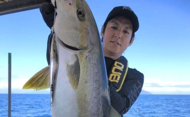 ジギングで6kgヒラマサ&SLJで良型キジハタが連発【幸漁丸】
