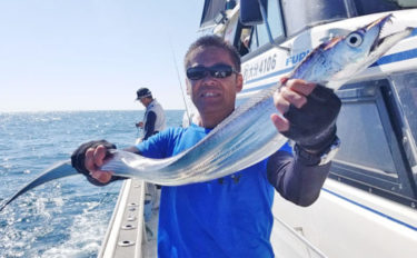 【大分県】沖釣り最新釣果 指7本級ドラゴンタチウオに50㎝超えアジ
