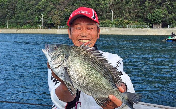 秋のチヌカカリ釣りで初心者にも良型 ダンゴ釣りで手中【和歌山県】
