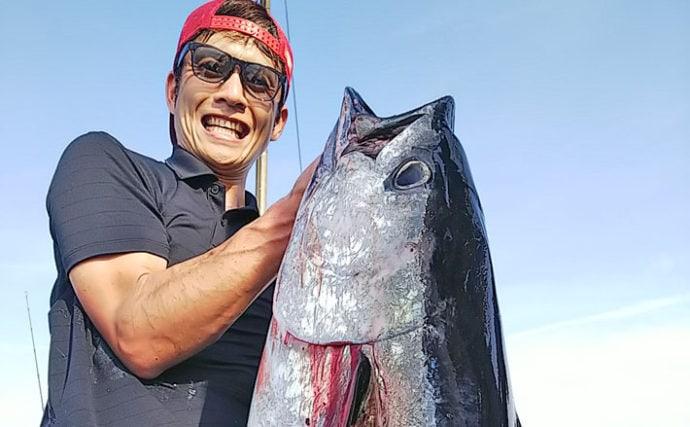 【九州】オフショアジギング釣果速報 20kgマグロに10kgヒラマサ