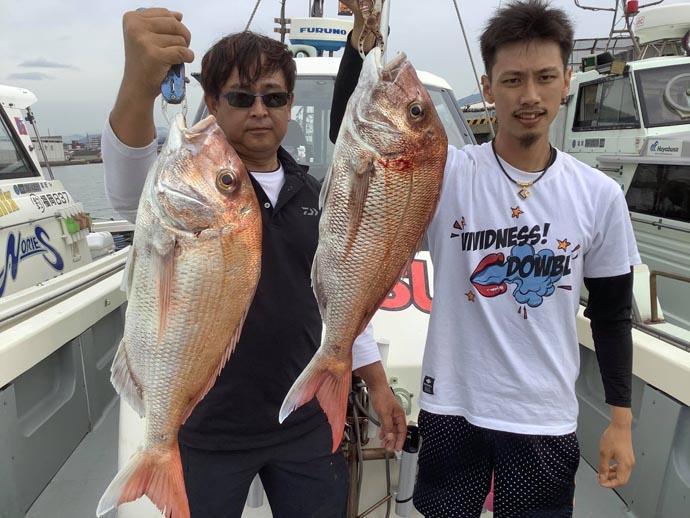 【九州エリア】タイラバ釣果速報 4kg超え連発で船中60尾超えも!