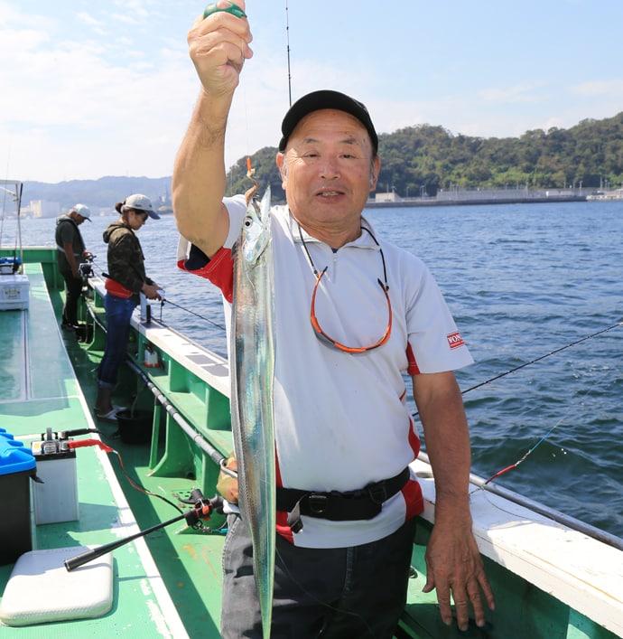 東京湾エサタチウオ釣行 渋いながらも1時間で9尾【金沢八景】