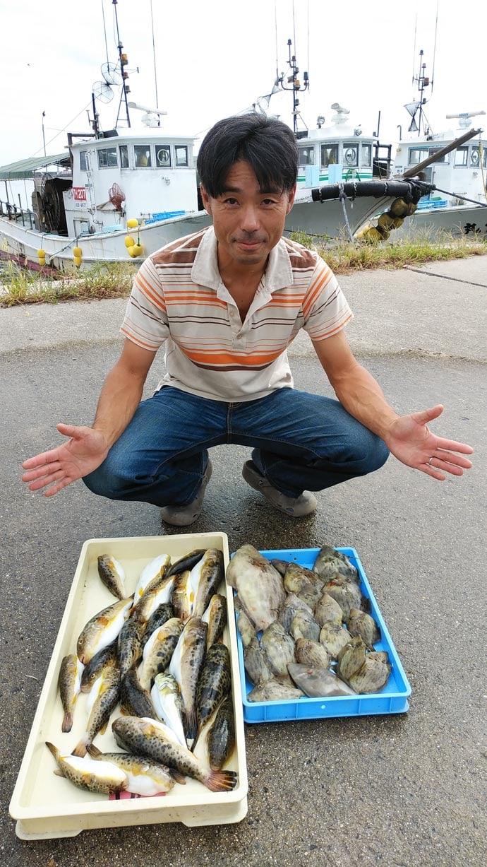 【愛知】沖釣り最新釣果 32cm筆頭にカワハギ50尾超え