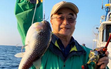 シーズン盛期のショウサイフグ釣り カットウ仕掛けのキホン【関東】