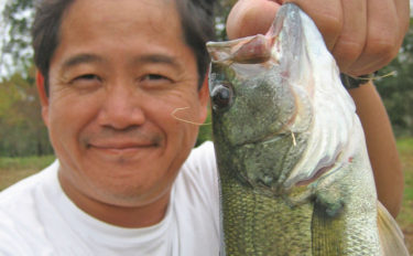 ブラックバス釣り5時間で32㎝頭に34匹 秋の数釣り堪能【大江川】