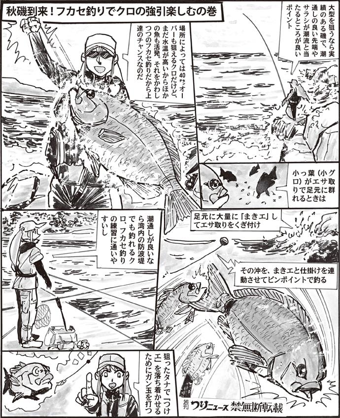 【九州エリア2019】秋磯フカセ釣り攻略法 沖のクロを遠投で狙おう