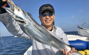 【大分県】沖釣り最新釣果 指7本級ドラゴンタチウオに落とし込みでブリ