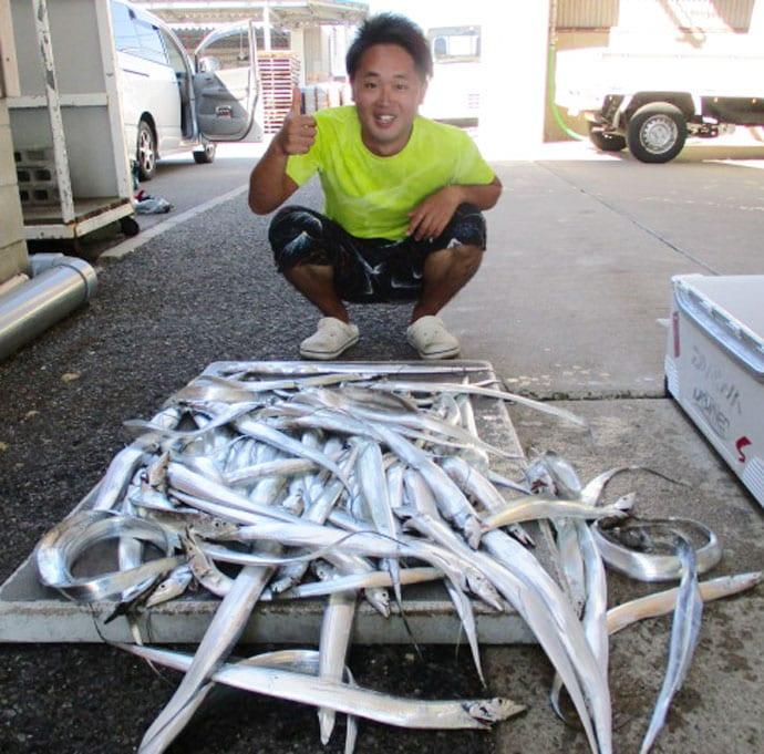 【愛知県】エサ釣り最新釣果 良型マダイにタチウオは100尾超え!