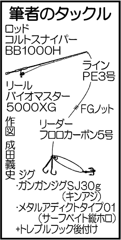 波止でのショアジギングで43cmガンゾウヒラメにサゴシ【鍋串漁港】