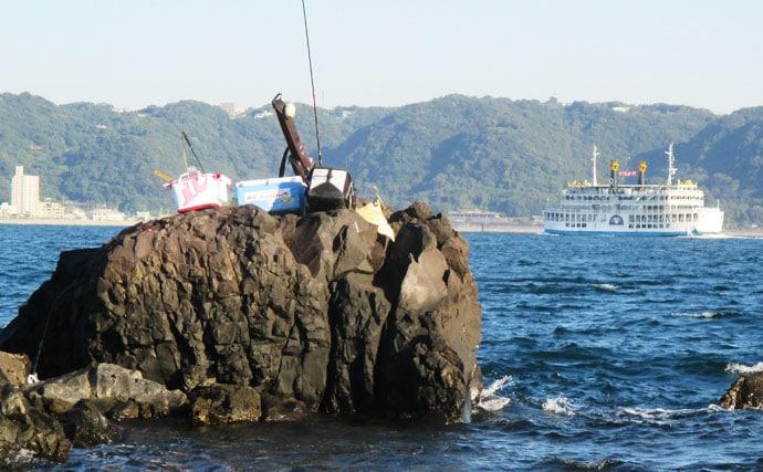 クロ狙いの『秋磯フカセ釣り』徹底解説 エサ取りはマキエワークで攻略