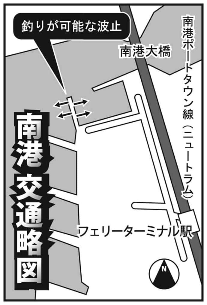 トレンドは電車でGO!:『大阪・南港』で仕事終わりにアジング!
