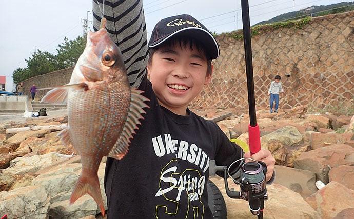 初心者向け釣り大会「うきまろファミリーフィッシングデー」レポート