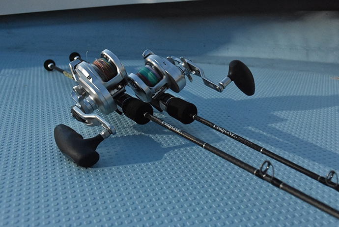 開発中スロージギングロッド『実釣テスト』に密着 釣れたらOKではない?