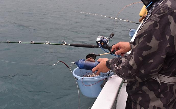 『テンビン釣り』でブリ族フィーバー シーズン本番【フィッシング隼】