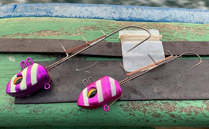 今季初の船タチウオ釣行 スローな釣りで105cm頭に7尾【洲本沖】
