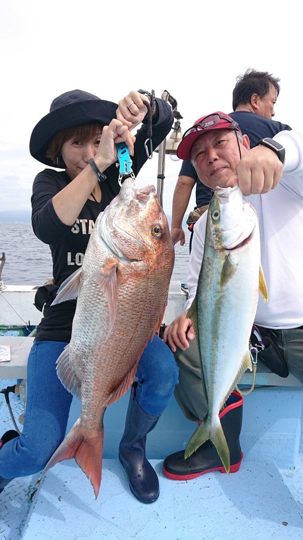 【福井県】沖釣り釣果速報 ジギング&完全フカセで青物にタルイカも開幕