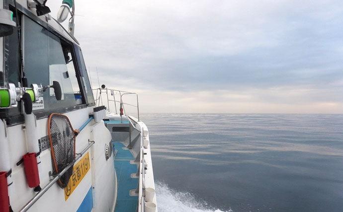 『中深海ジギング』で白子たっぷりタラ狙い 70cm手中【シーホーク】