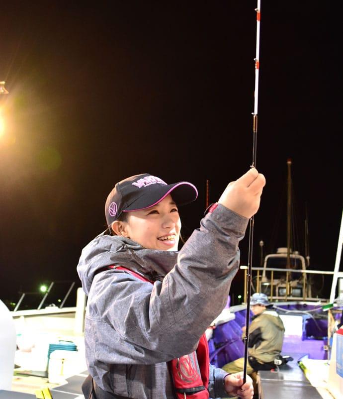 杉田千紘が外房ヒラメ釣りで竿頭ゲット オススメ釣果レシピも【つる丸】
