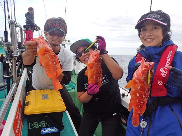 大物釣り聖地『銭洲』秋の遠征のススメ アカハタ爆釣に大型カンパチも