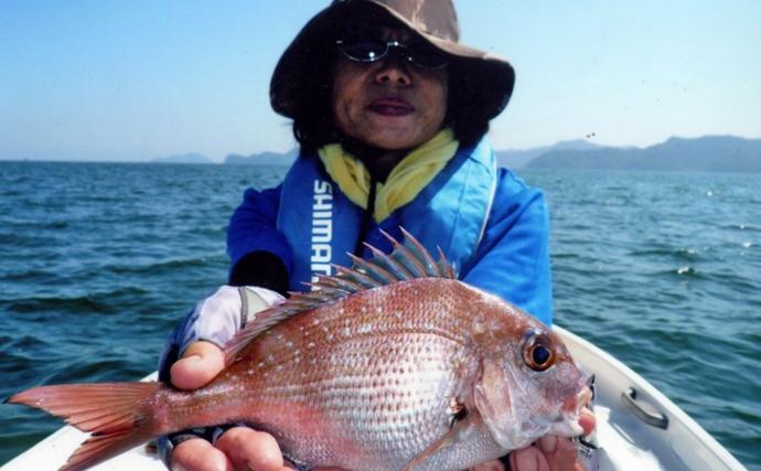 マイボートでのビシ釣りで25cm頭にカイワリ20尾の数釣り【大分県】