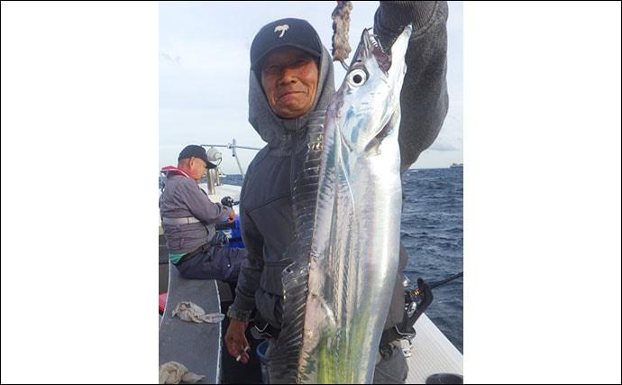 【大分・熊本】沖釣り最新釣果 テンヤ&タイラバで船中マダイ250尾
