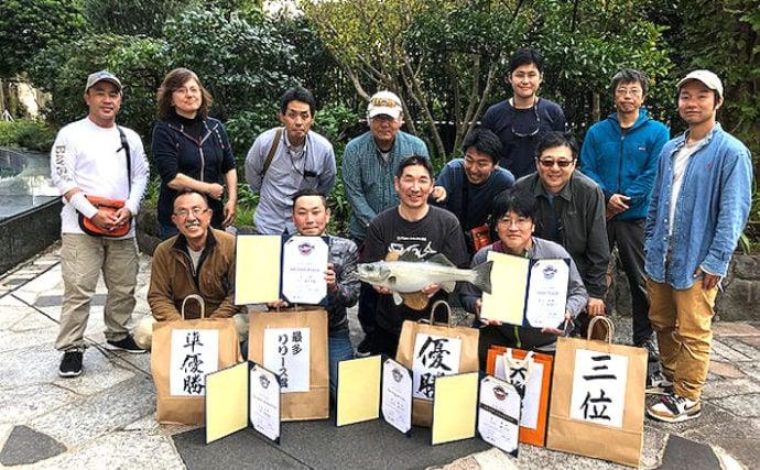 東京湾シーバスをソルトフライフィッシングで狙う 大会取材レポート