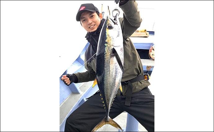 【静岡・三重・福井】沖釣り釣果速報 11kgカンパチに15kgタルイカ!