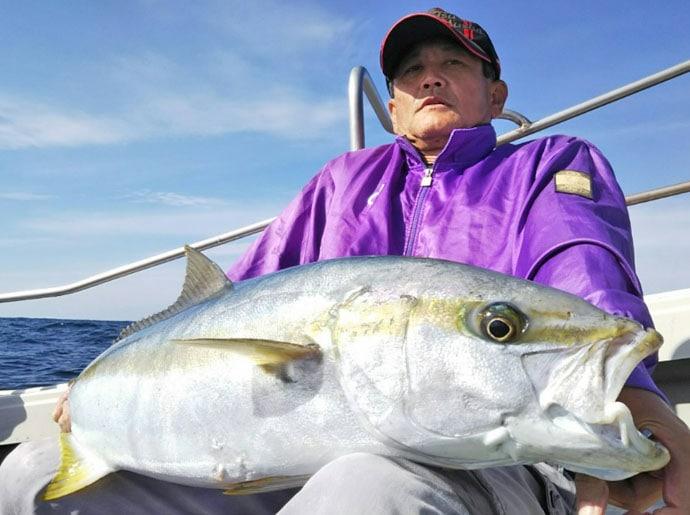 【福岡県】ルアー船釣果速報 キャスティングで13kg超ヒラマサ!