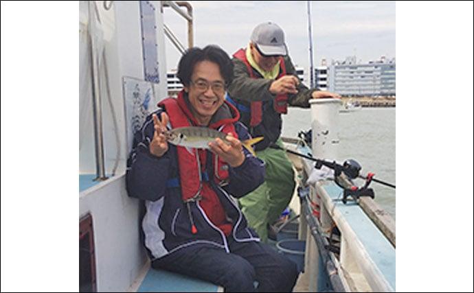 釣りたてを船上で食す「天ぷら船」でイシモチ&アジ釣り【大山丸】