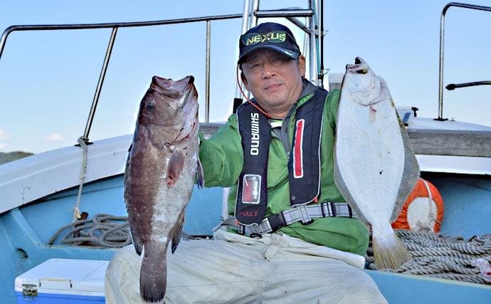 【響灘】落とし込み釣果速報 8kgヒラマサなど良型青物絶好調!