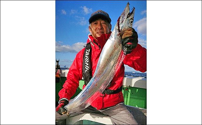 【大分・熊本】沖釣り最新釣果 指幅9本級ドラゴンサイズタチウオ登場