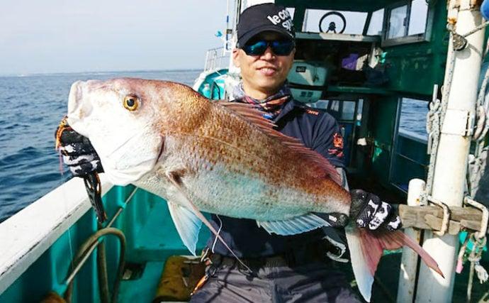 【福井・静岡】沖釣り最新釣果 タイラバ&ジギングで大型マダイ好調!