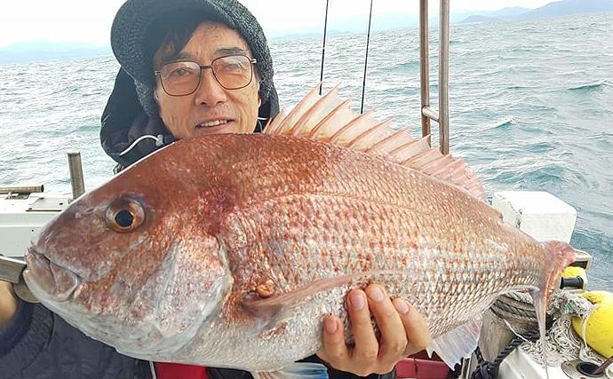 【福岡県】沖のルアーフィッシング最新釣果 ジギングで大型アラ浮上