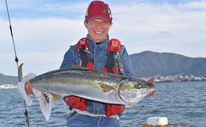 【響灘】落とし込み最新釣果 青物にマダイにヒラメと魚種多彩