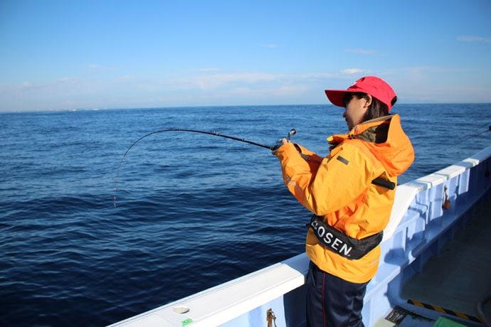釣りユーチューバー「ゆーか」がタイラバ&ジギングで人生初魚種ゲット