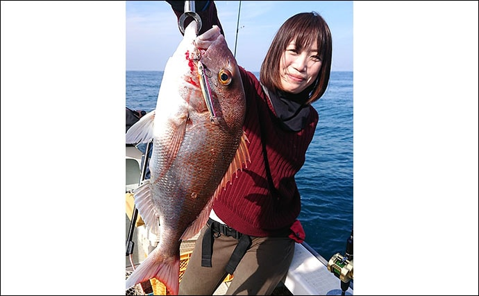 SLJで70cm級マダイ2連発 青物や根魚も顔見せ【Trip】