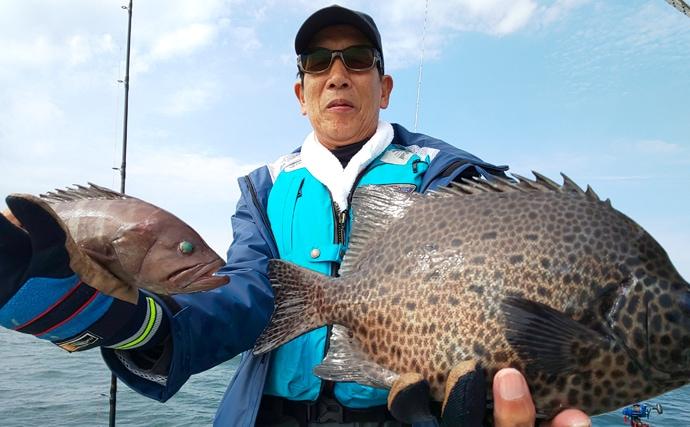 【愛知県】沖釣り最新釣果 シーバスゲームでまさかの60cmクエ登場
