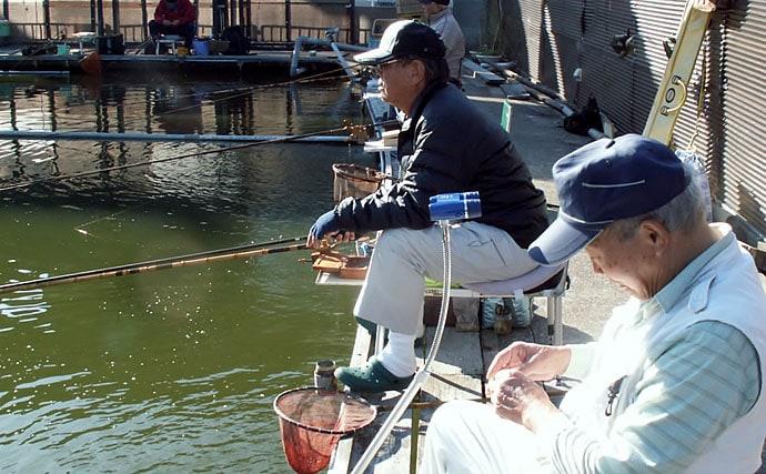 管理釣り場でヘラブナ満喫 エサの工夫を楽しむ【へら釣り西池】