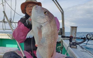 【玄界灘】落とし込み最新釣果 エサ付き良好で良型高級魚が連発